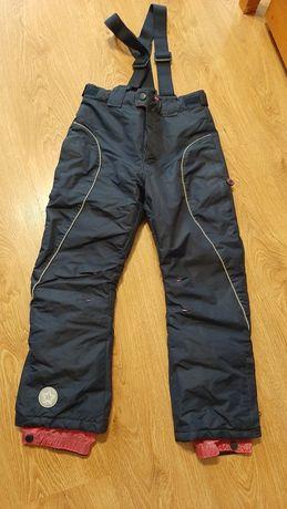 Spodnie zimowe narciarskie smyk 134