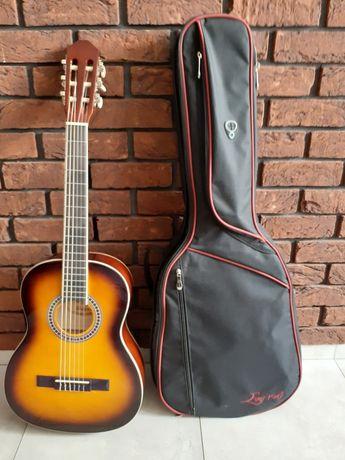 Gitara klasyczna Ever Play 3/4 jak nowa + gruby pokrowiec
