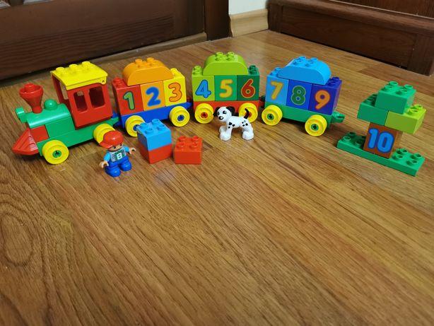 Lego duplo Подарок!! оригинал паравозик поезд
