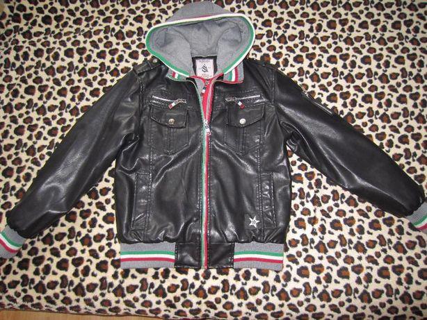 Модная подростковая демисезонная куртка