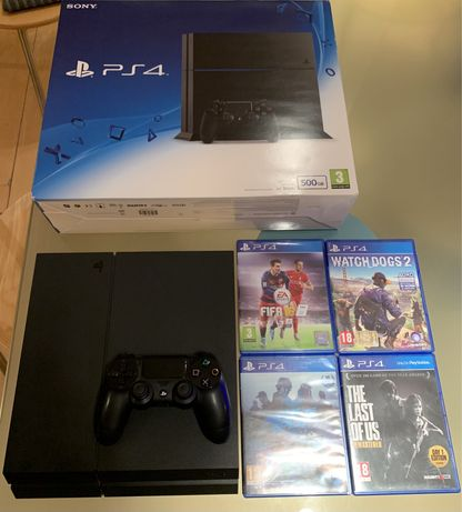 PlayStation 4 2nd Gen 500GB (Jet Black)