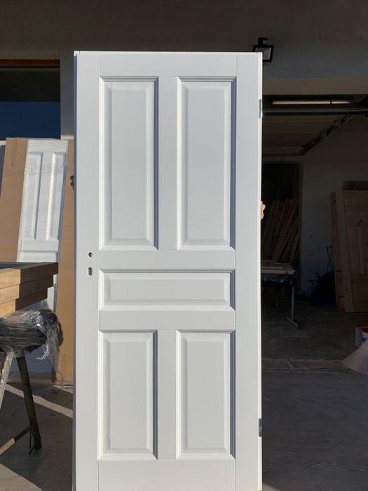 Drzwi wewnętrzne drewniane,OD RĘKI styl białe Grzybno - image 1
