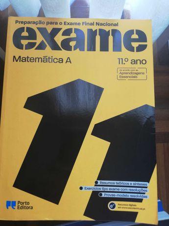 Livro de Preparação para o exame nacional final de Matemática  11º Ano