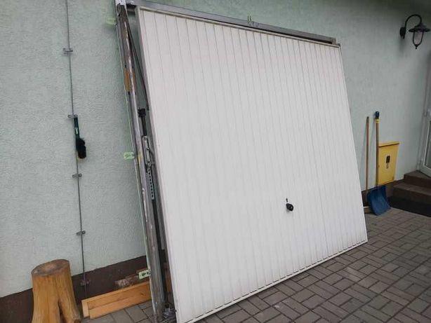 Używana brama garażowa Hormann