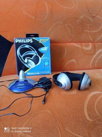 Bezprzewodowe słuchawki Philips  HC 8349