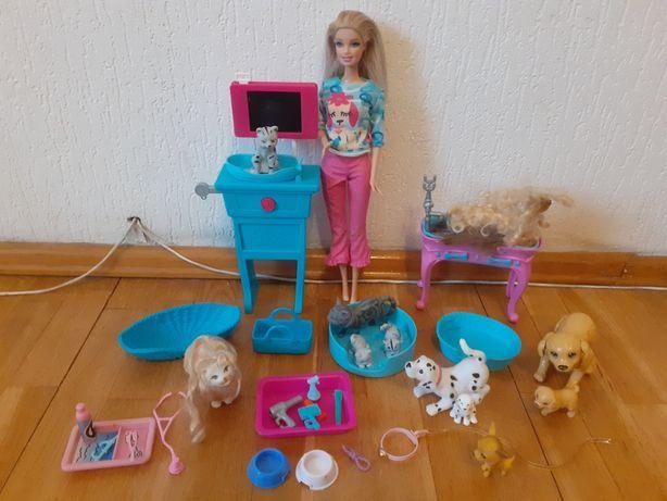 Barbie weterynarz , fryzjerka