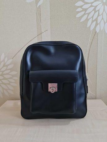 Черный рюкзак Next