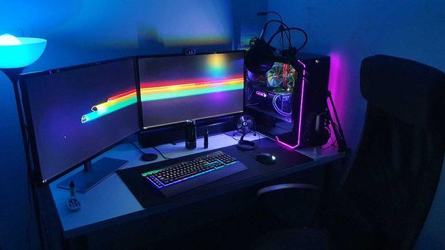 Nowoczesny komputer do gier i pracy, i5-9600k/RTX 2070/16GB RAM
