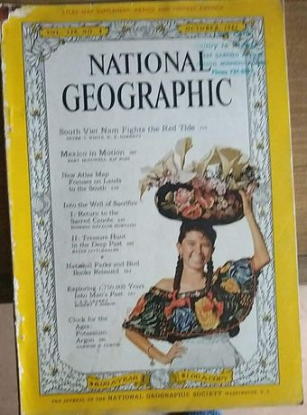National Geographic od 1961 do 1974