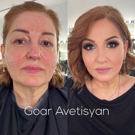 Лифтинг макияж от Гоар Авитесян видеоурок