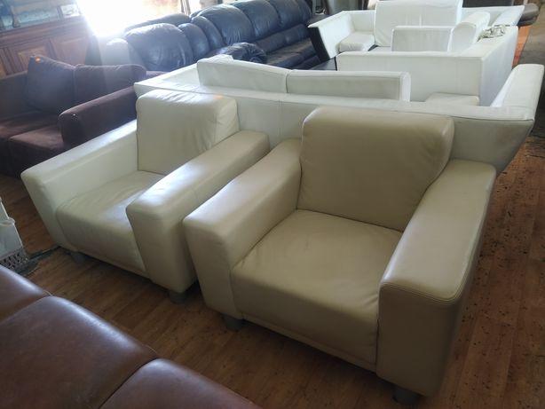 Stylowe Meble Holenderskie Fotele Skórzane