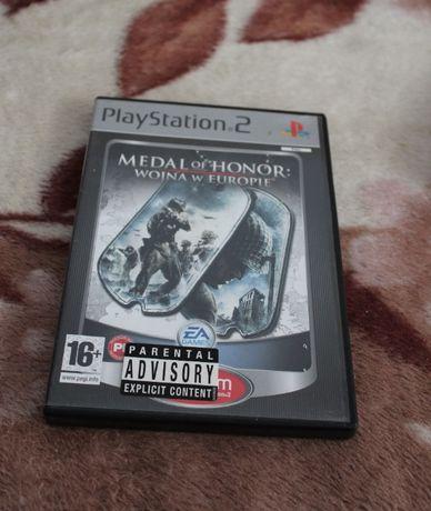 Gra do PS2 Medal of Honor: Wojna w Europie