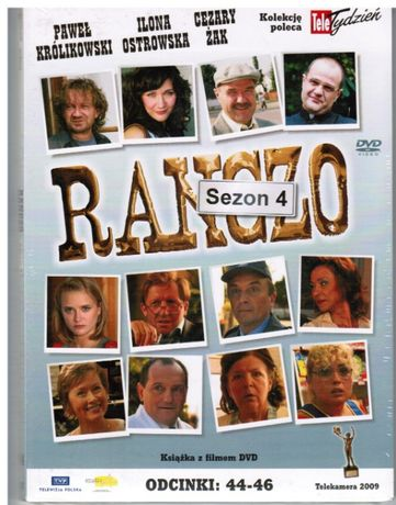 dvd RANCZO serial,14 tom kolekcji,sezon 4,odcinki:44-46,nowe,w folii
