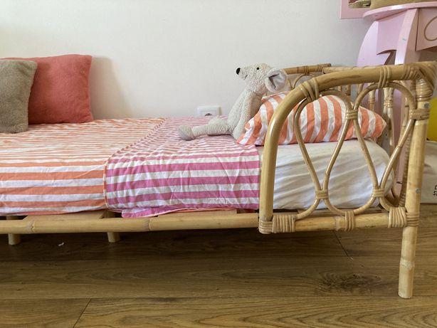 Cama de criança/junior em bambu