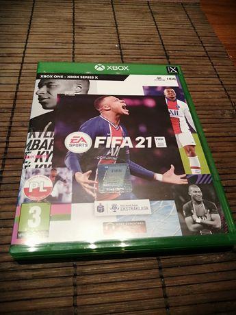 Fifa 21  X Box One  Używana Raz! Stan Nowa!