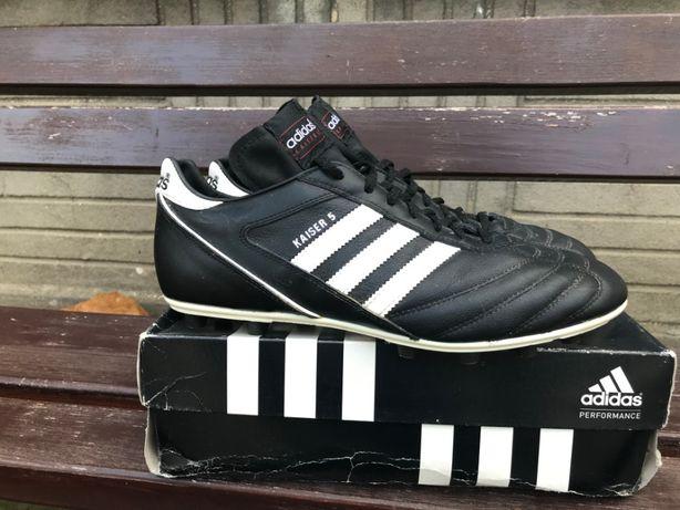 Buty Korki Adidas Kaiser 5 - użyte 3 razy, rozmiar 46 2/3