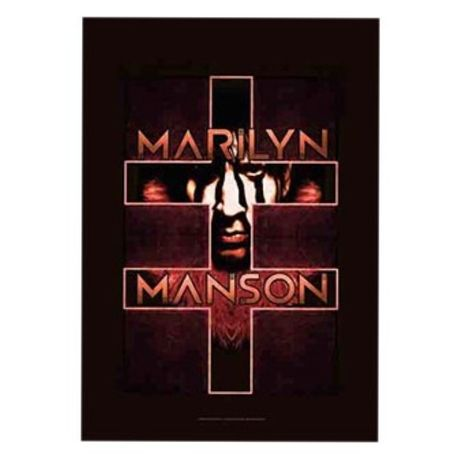Marilyn Manson - Bandeira Double Cross