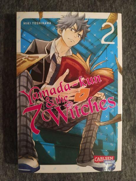 Manga: Yamada - Kun & The 7 Witches 2 - wersja niemiecka