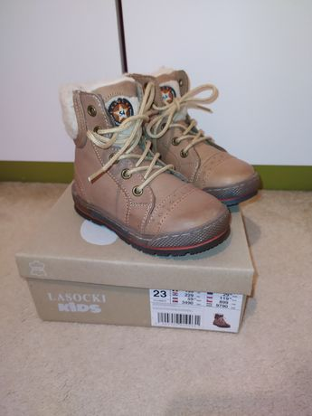 Nowe buty zimowe Lasocki, rozm. 23