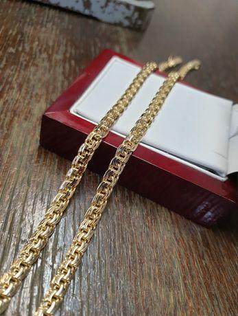 Łańcuszek złoty pr.585 waga 50g wzór galibardi