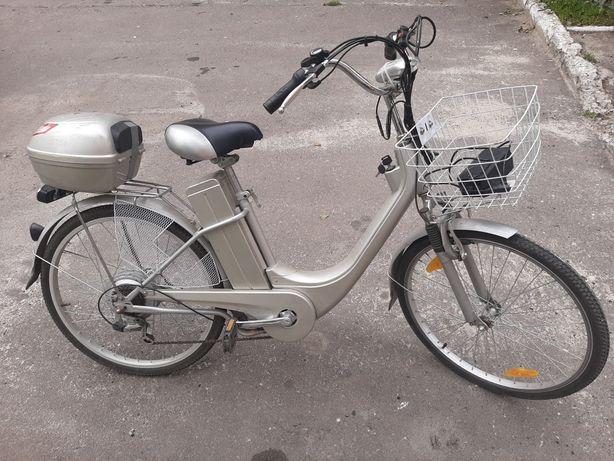 Велосипед електро
