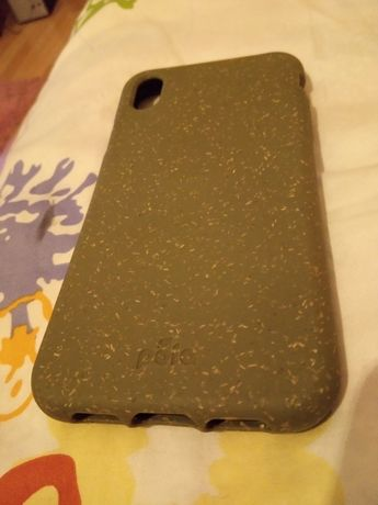 Capa iPhone Xr Moss Hemp Eco-Friendly