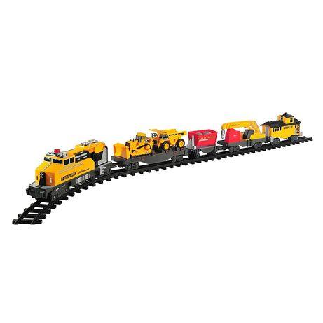 Toy state железная дорога CAT  Строительный экспресс