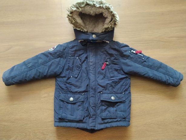 Тёплая курточка парка еврозима Topolino