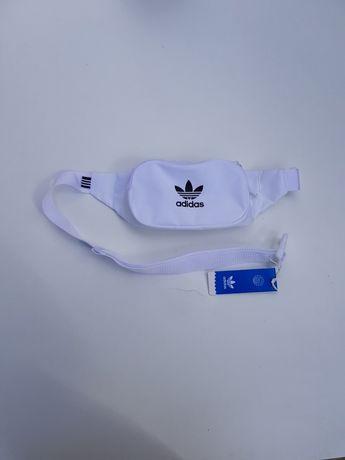 Bolsa / Pochete de cintura branca Essential Adidas Originals Nova