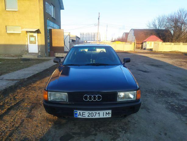 Audi 80 B3 1,6 газ-бензин