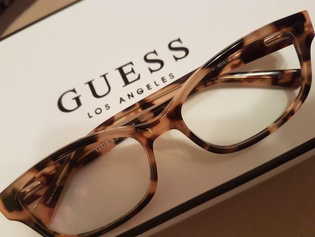 Okulary w SUPER cenie-firmy GUESS -korekcyjne szkła progresywne
