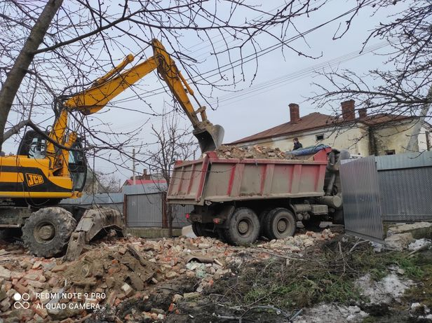 Вивіз сміття,хламу(прибирання підвалів)копання.вантажники