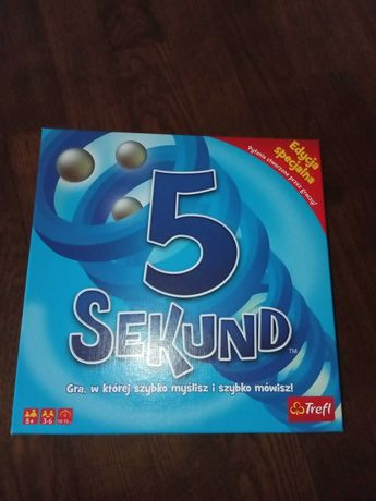 Nowa Gra 5 Sekund Trefl Dorośli i Dzieci