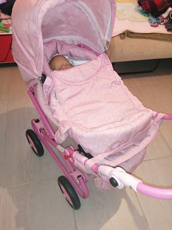 Wózek z lalka baby born