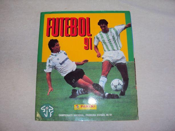 Caderneta Futebol 91 - Panini