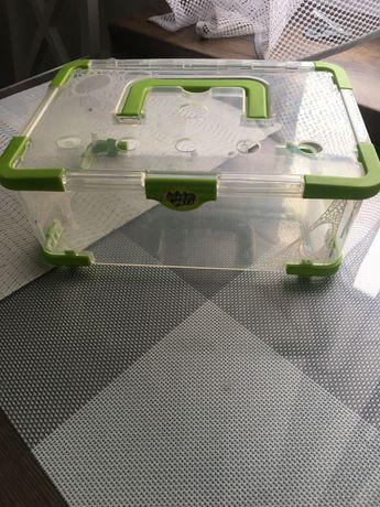 Terrarium plastikowe z wentylacja