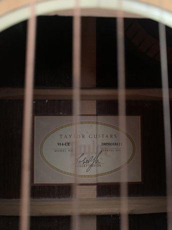 Gitara elektroakustyczna taylor 914ce