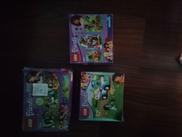 Klocki Lego Friends 41031, 41032, 41086