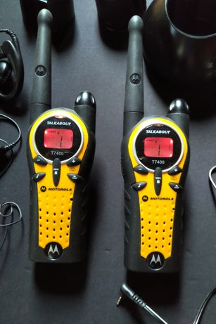 Motorola T7400 talkabout walkie talkie