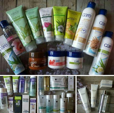 Kosmetyki Avon do twarzy Care Naturals Anew NutraEffects Nowe