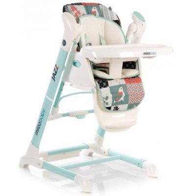 Качеля +крісло для годування 2в1 mioobaby