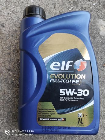 Olej ELF 5w30  full-tech FE