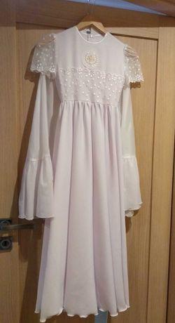 Sukienka komunijna dla dziewczynki