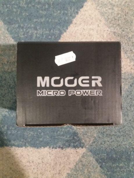 power supply mooer micro multizasilacz do efektów+ładowarka i adapter