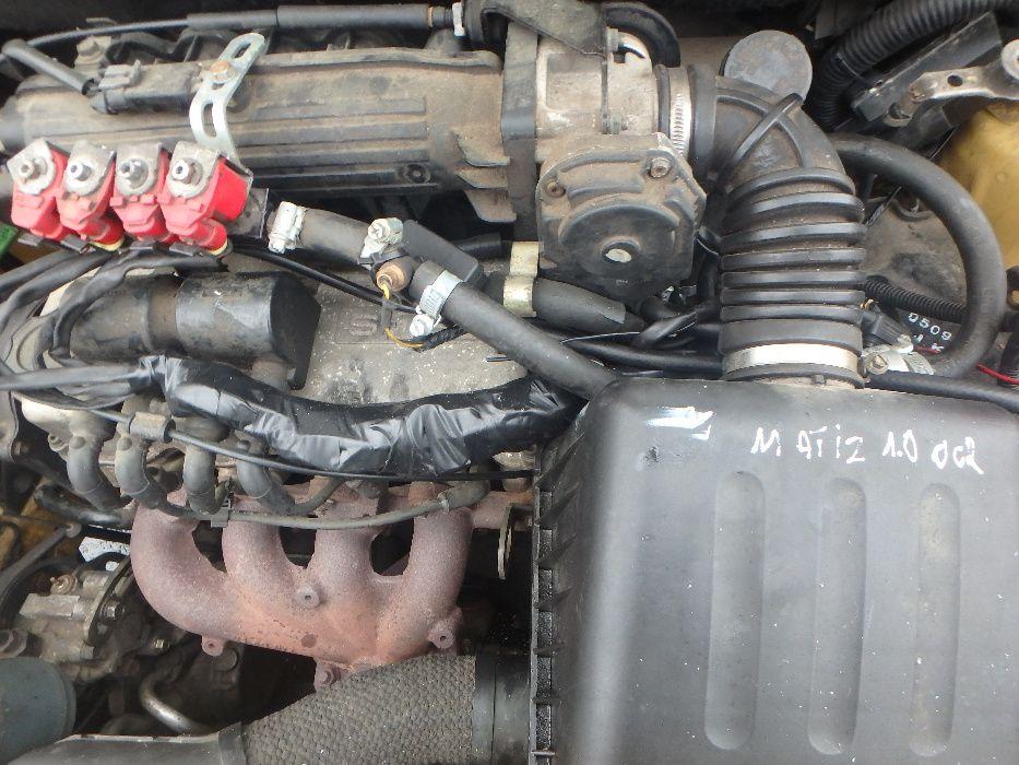 Silnik Chevrolet Matiz 1.0 kompletny gwarancja Dobino - image 1