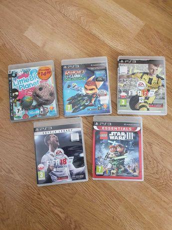 Gry PS3 Fifa 17, Lego Star Wars, Little Big Planet Playstation 3