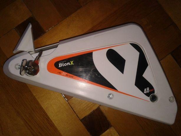 Bateria rowerowa Bionx 48v 6,6Ah 317Wh w pełni sprawna zamek kluczyki