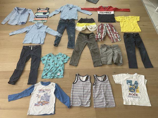 Комплект детских вещей 118-122 см