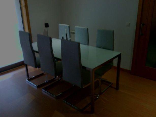 Cadeiras Sala cinzenta platinium por úNik Design.