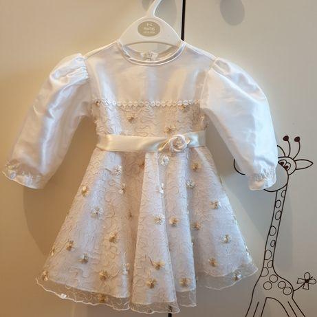 Sukienka do chrztu roz. 68